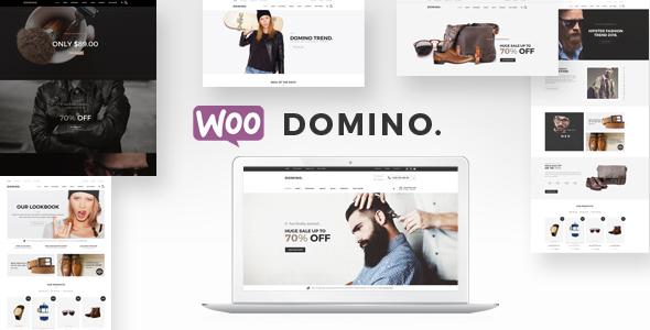Wordpress Shop Template Domino - Fashion Responsive WordPress Theme