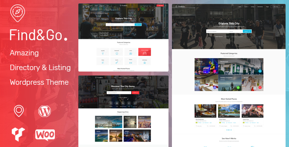 Wordpress Directory Template Findgo - Directory & Listing WordPress Theme