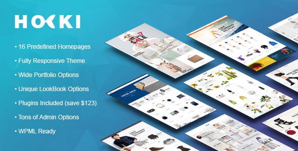 Wordpress Shop Template HOKI - Multi-Purpose Responsive WordPress & WooCommerce Theme