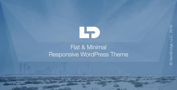 Wordpress Kreativ Template LightDose — Flat&Minimal WordPress Theme