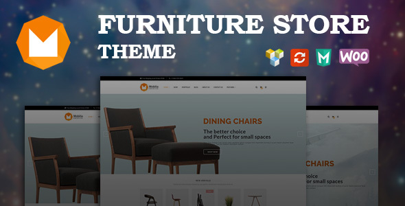 Wordpress Shop Template Mobilia - Furniture WooCommerce WordPress Theme