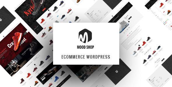 Wordpress Shop Template Moodshop - Modern eCommerce WordPress theme