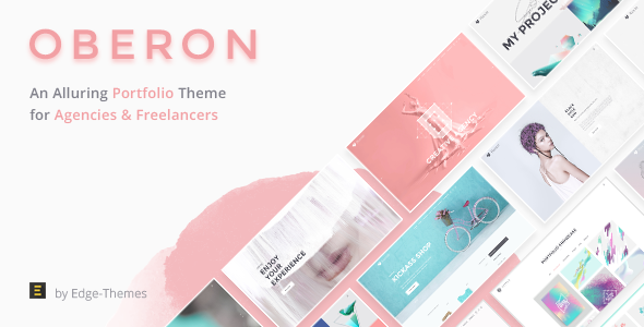 Wordpress Kreativ Template Oberon - An Alluring Portfolio Theme for Agencies and Freelancers