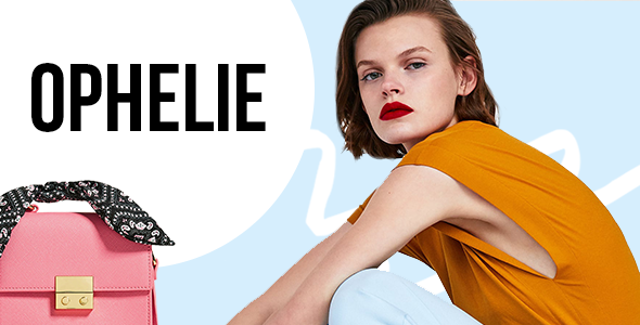 Wordpress Shop Template Ophelie - WooCommerce Theme for Fashion Shops, Stores and Brands