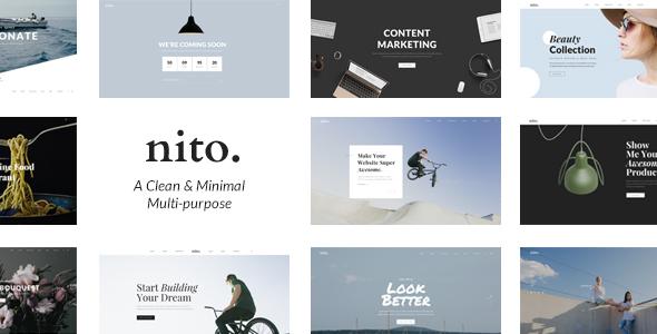 Livo - Ein sauberes und minimales Portfolio WordPress-Vorlage - 16