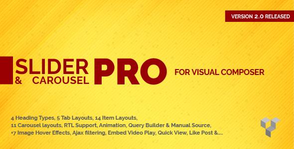 Wordpress Add-On Plugin Pro Slider & Carousel Layout for Visual Composer : Amazingly Display Post & Custom Post