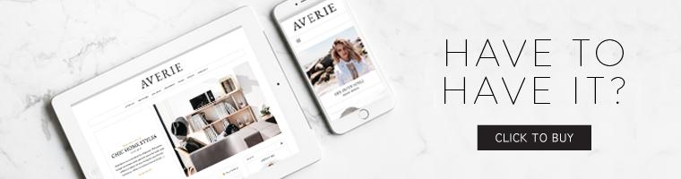 Averie - Ein Blog & Shop-Thema