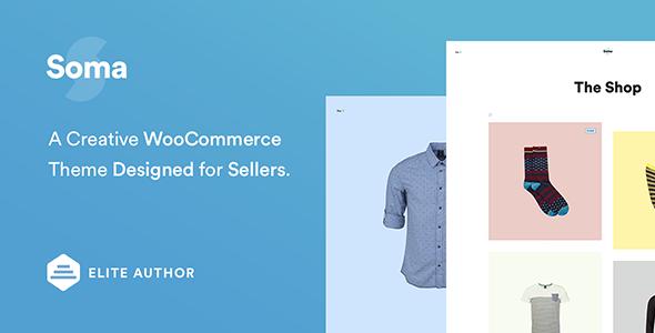 Wordpress Shop Template Soma - Creative WooCommerce Theme