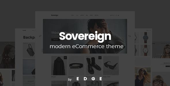 Wordpress Shop Template Sovereign - A Modern, Minimalistic Shop Theme