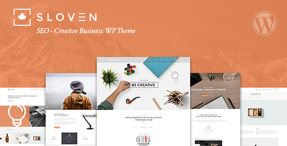 Slowenische Suchmaschinenoptimierung - Creative Business WP Theme - Business Corporate