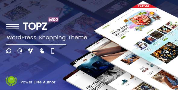 Wordpress Shop Template TopZ - Responsive Multipurpose WooCommerce WordPress Theme