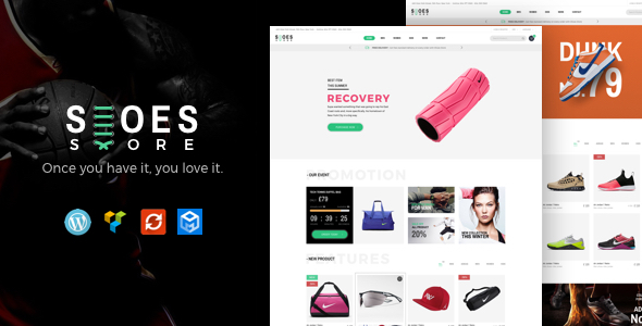 Wordpress Shop Template Trueshoes - Responsive WooCommerce WordPress Theme