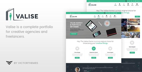Wordpress Kreativ Template Valise - Agency / Personal Portfolio Theme
