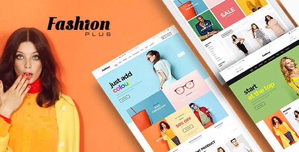 Wordpress Shop Template WooCommerce Fashion WordPress Theme - Fashion Plus