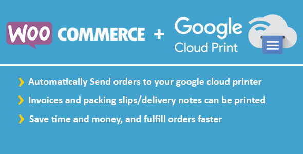 WooCommerce Google Cloud Print | Woocommerce Automatischer Auftragsdruck