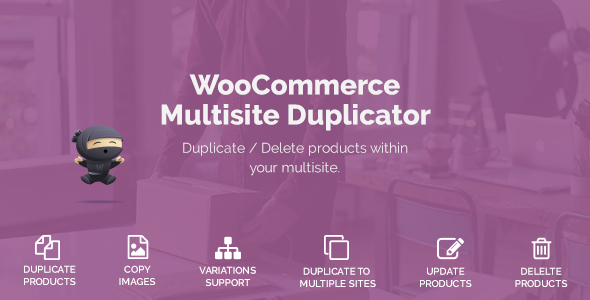 Wordpress E-Commerce Plugin WooCommerce Multisite Duplicator