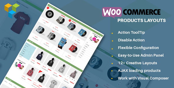 Wordpress Add-On Plugin WooCommerce Products Layouts - Multi-Layout for WooCommerce