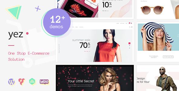Wordpress Shop Template Yez - Multipurpose WooCommerce WordPress Theme