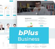 Bplus-Business-WordPress-Layout