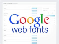 Tonnen von Google-Schriftarten