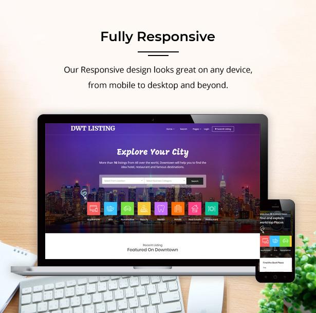 größtes responsives Verzeichnisdesign
