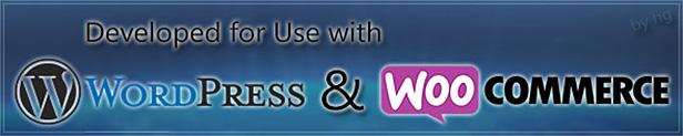 Entwickelt für WordPress und Woocommerce