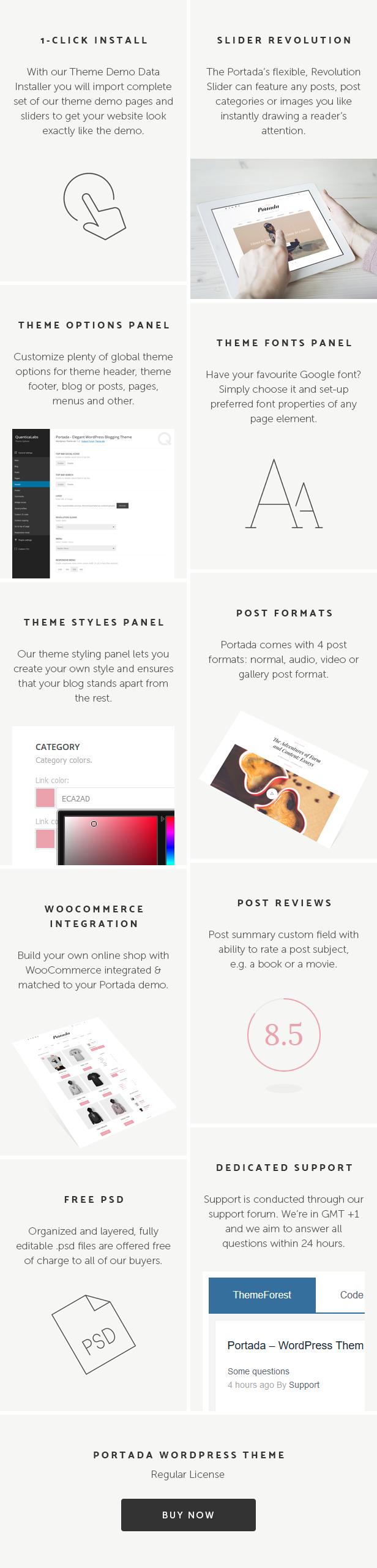 Blog, Magazin, Redaktion, Lifestyle, Blogging WordPress Layout