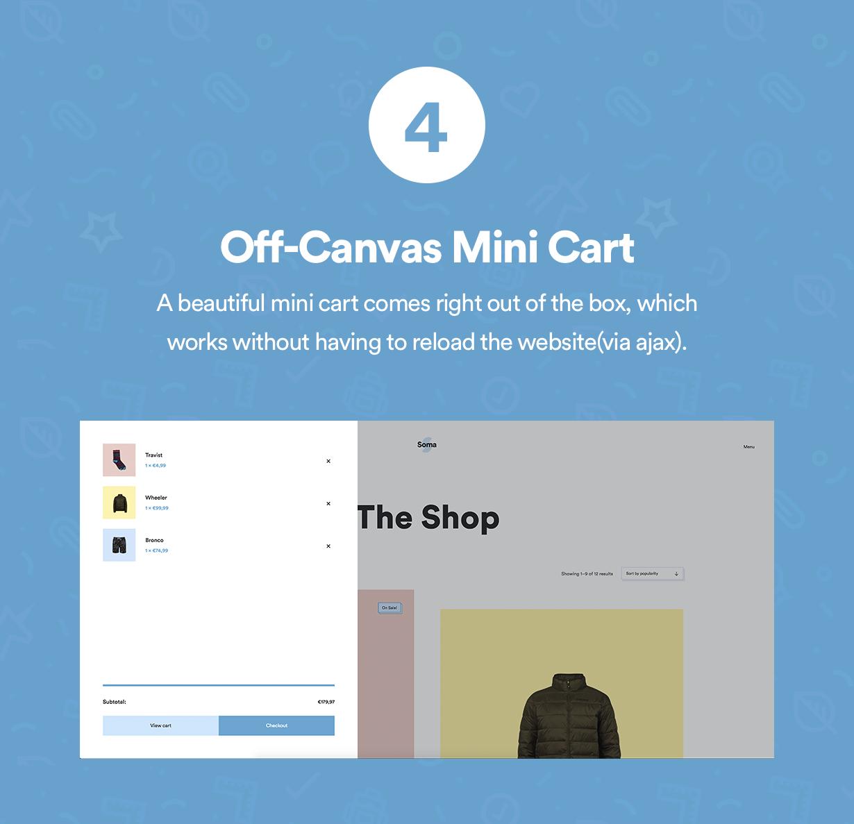 Off-Canvas-Minicart