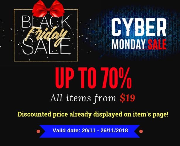 Wordpress Black Friday & Cyber Monday Verkauf bis zu 70%