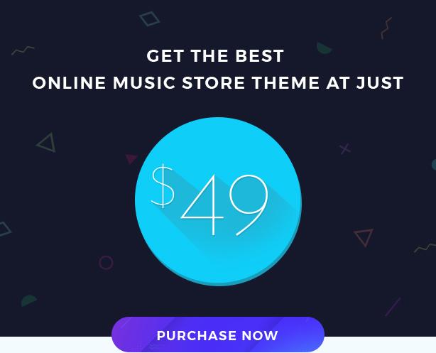 Miraculous - Online Music Store WordPress-Template