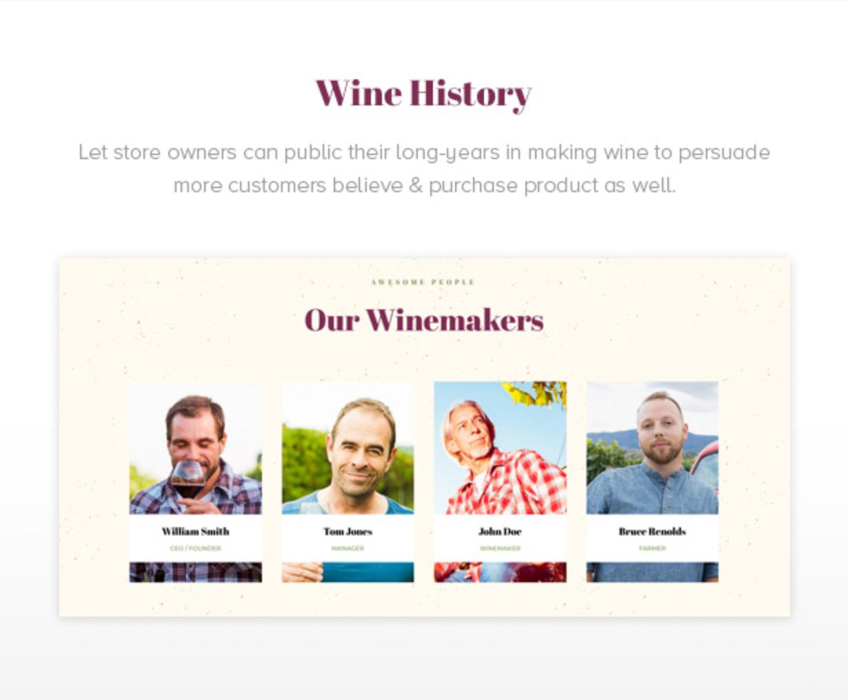 Royanwine Wine History für Vinyard, Weingut, Winzer, Milchviehbetrieb