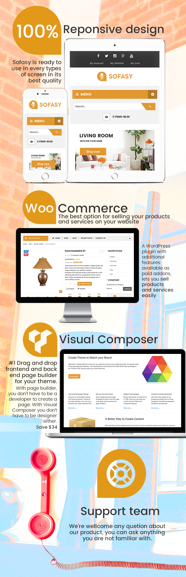 VG Sofasy - Responsives WooCommerce-WordPress-Layout