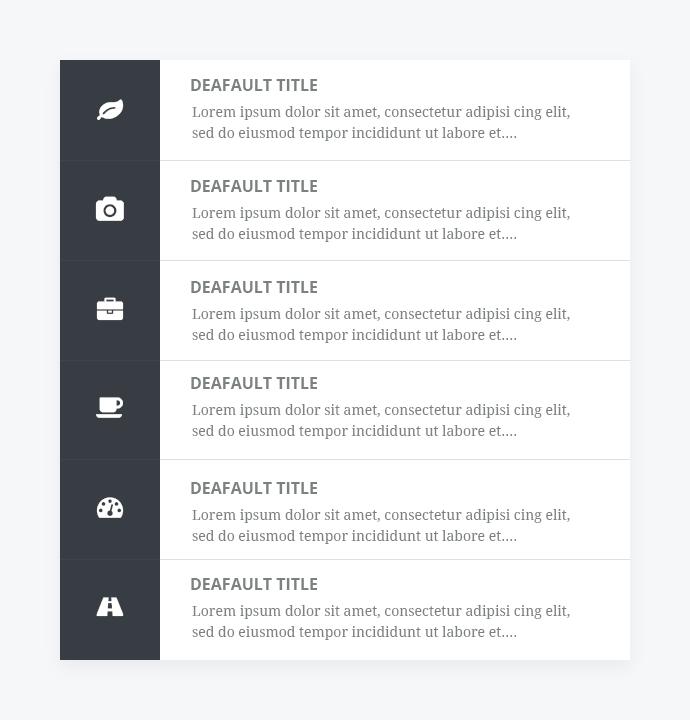 Add-Ons für Aufzählungslisten für Elementor Page Builder - 9