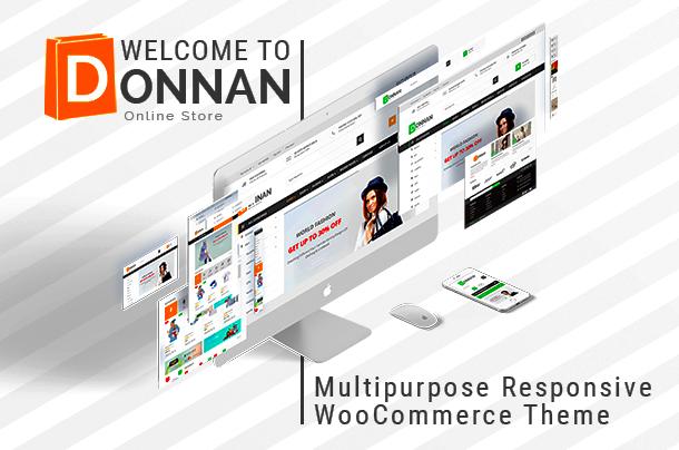 VG Donnan - Responsives WooCommerce-Design für verschiedene Zwecke