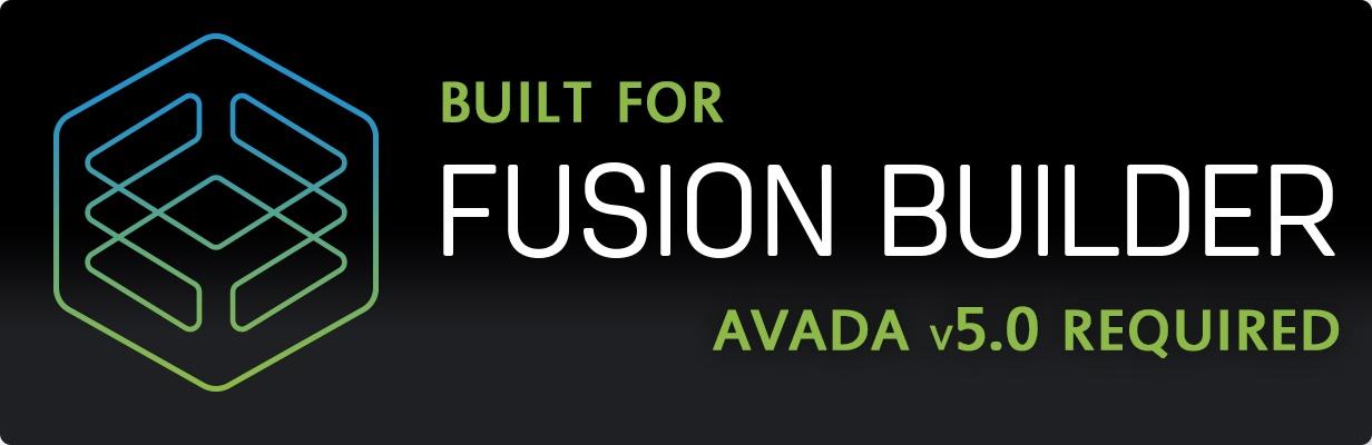 Entwickelt für Avada Fusion Builder - Version 5 erforderlich.