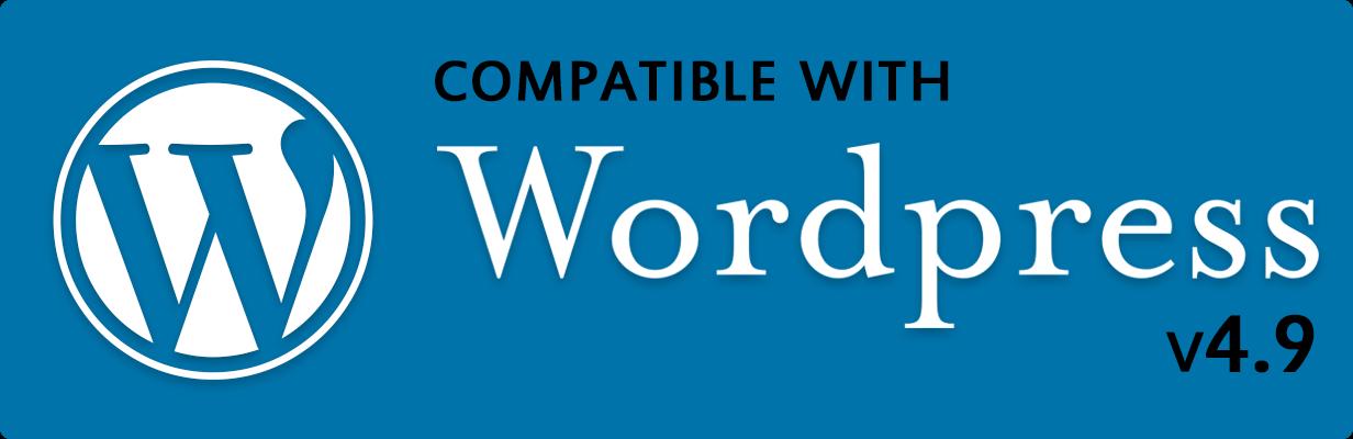 Kompatibel mit WordPress Version 4.9.