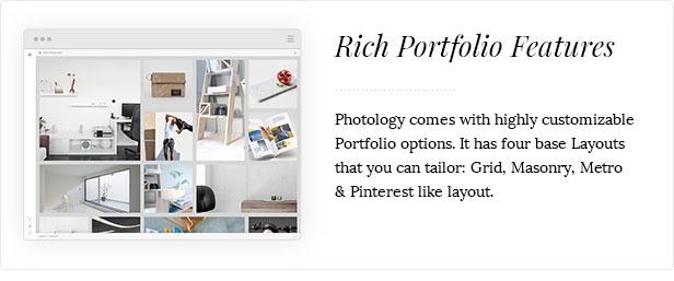 Photologie - saubere Fotografie-Galerie-Themen