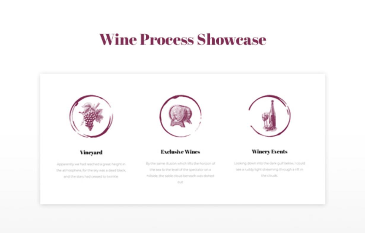 Royanwine Wine Process Showcase für Vinyard, Weingut, Winzer, Milchviehbetrieb