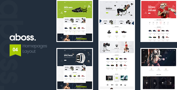 Wordpress Shop Template Aboss - Responsive Theme for WooCommerce WordPress