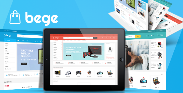 Wordpress Shop Template Bege - Responsive WooCommerce WordPress Theme