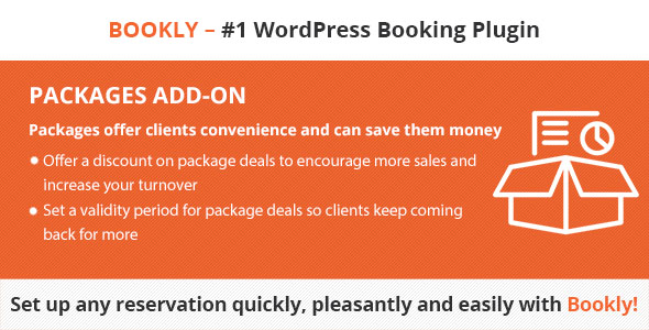 Wordpress Add-On Plugin Bookly Packages (Add-on)
