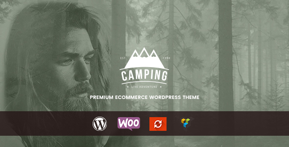 Wordpress Shop Template Camping - Responsive WooCommerce WordPress Theme