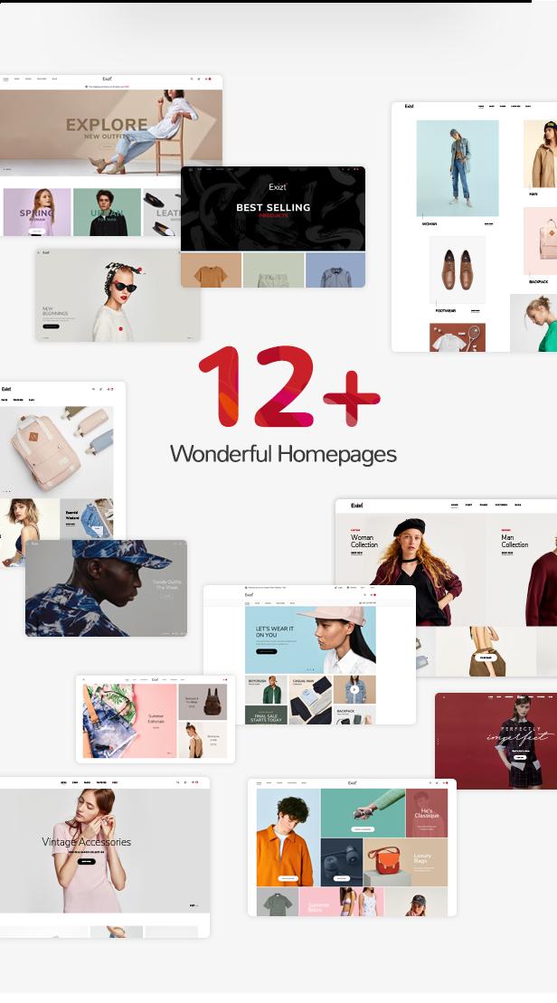 Exit WordPress Template