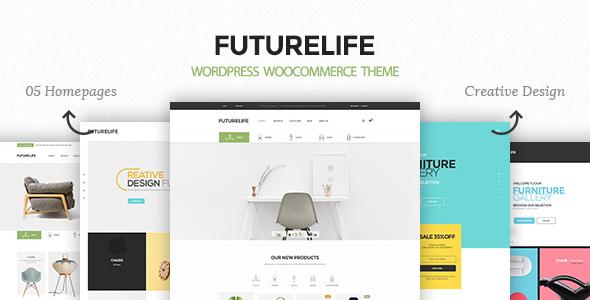 Wordpress Shop Template Futurelife – Responsive WordPress Woocommerce Theme