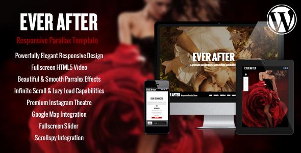 Wordpress Kreativ Template Ever After - OnePage Parallax WordPress Theme