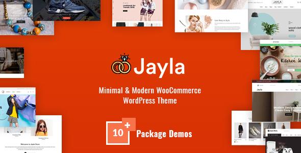 Wordpress Shop Template Jayla - Minimal & Modern Multi-Concept WooCommerce Theme