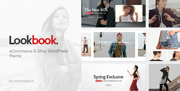 Wordpress Shop Template Lookbook - Fashion Store & Clothing Woocommerce Theme