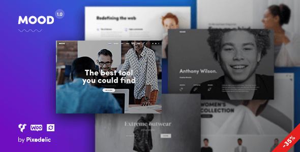 Wordpress Kreativ Template MOOD Creative MultiPurpose WordPress Theme