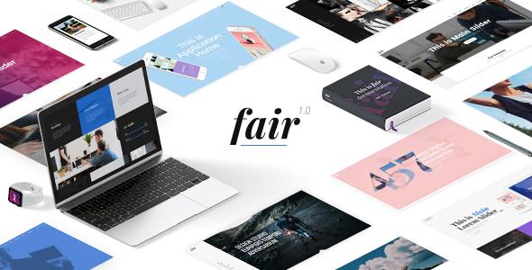 Wordpress Kreativ Template Fair - A Fresh Multipurpose Theme for Creative Businesses & Individuals