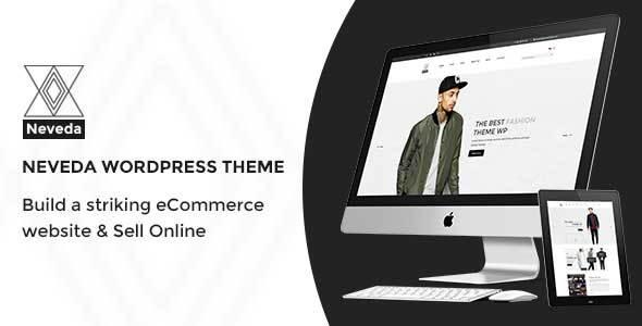 Wordpress Shop Template Neveda - Responsive Fashion eCommerce WordPress Theme